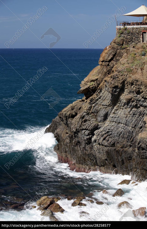 cliffs, in, riomaggiore., , cinque, terre, - 28258577