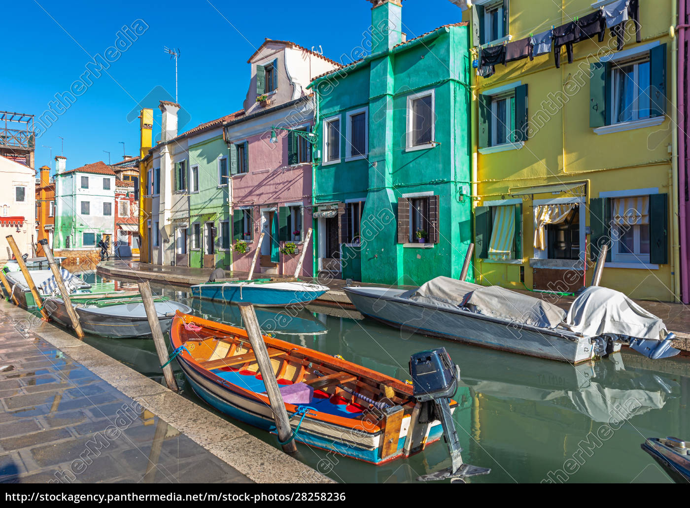 colorful, houses, in, burano, , venice - 28258236