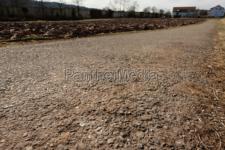 dirt, road, with, tar, and, focus - 28258358