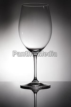 empty, transparent, glass, for, bordeaux, red - 28258374
