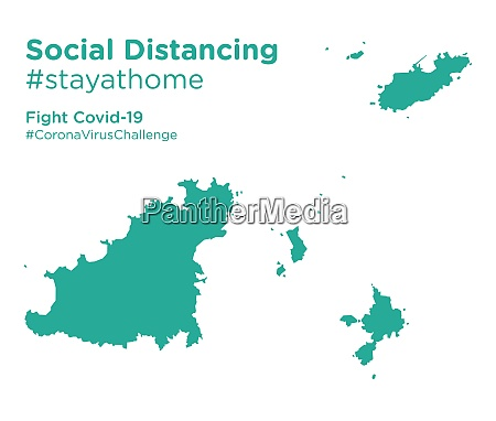 guernsey, map, with, social, distancing, stayathome - 28258957