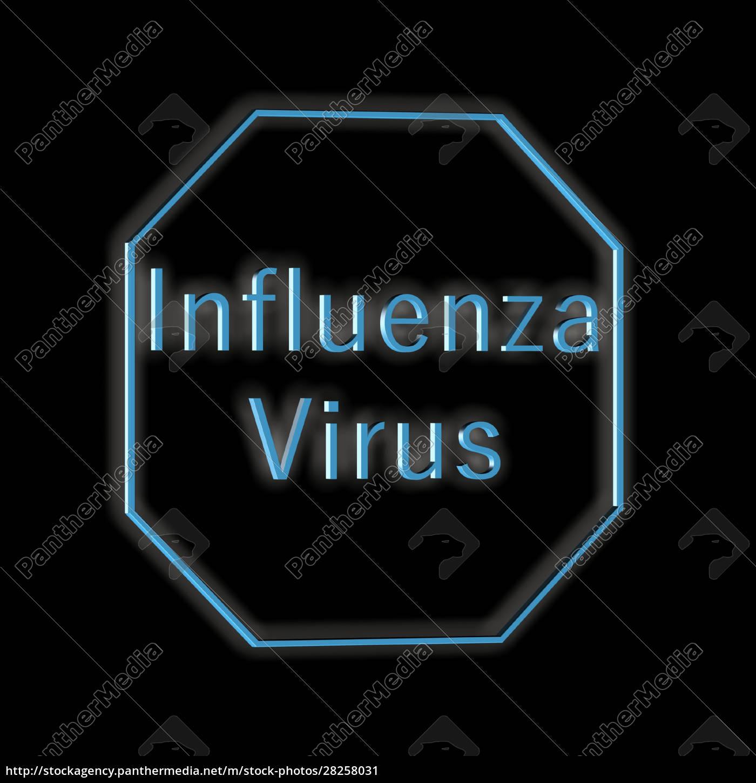 influenza, virus, -, word, or, text - 28258031