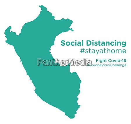 peru, map, with, social, distancing, stayathome - 28258735