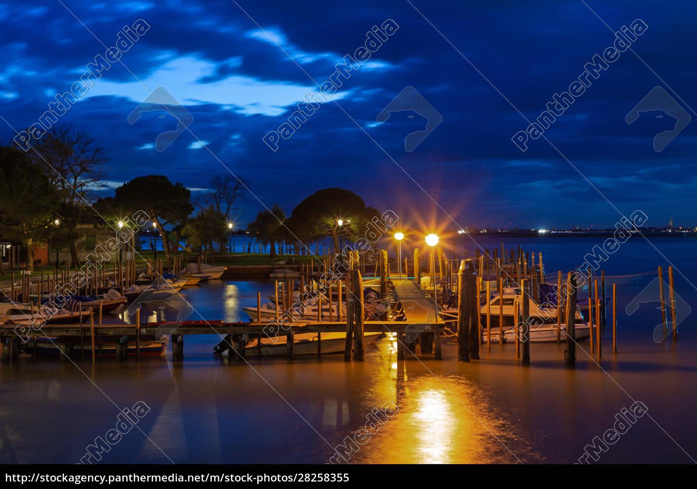 small, harbor, in, burano, , venice, , at - 28258355
