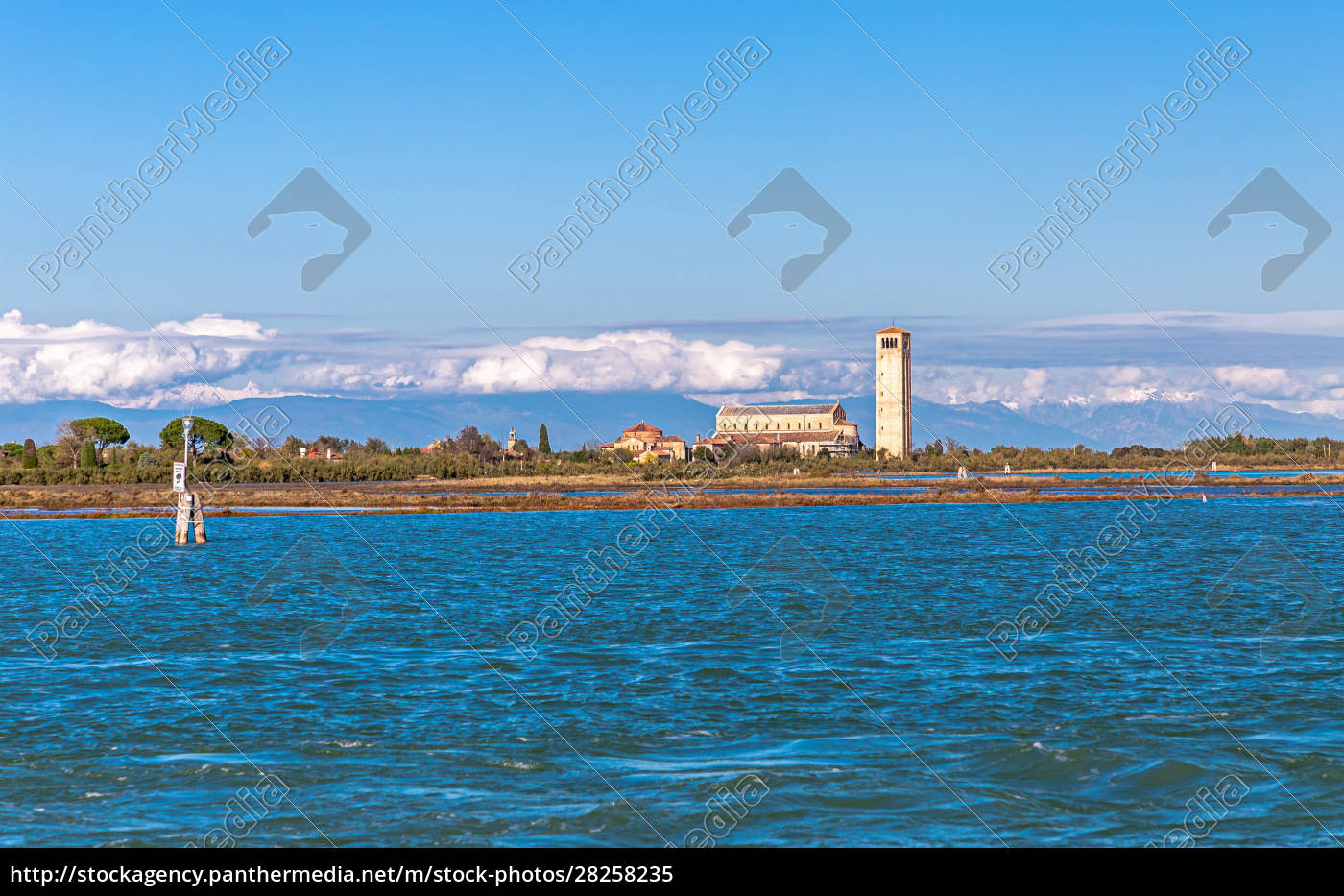 view, from, burano, , venice, to, the - 28258235