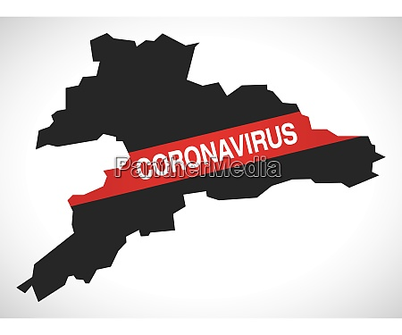 jura switzerland canton map with coronavirus