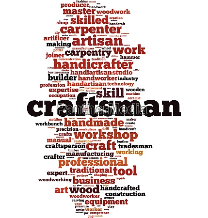 craftsman word cloud