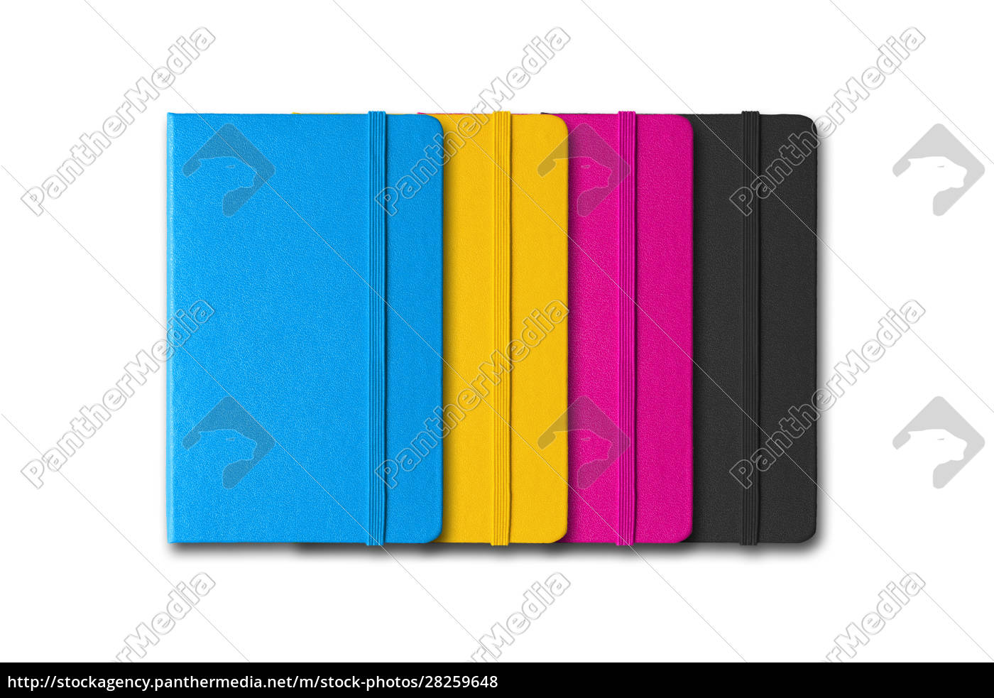 cmyk, closed, notebooks, set - 28259648