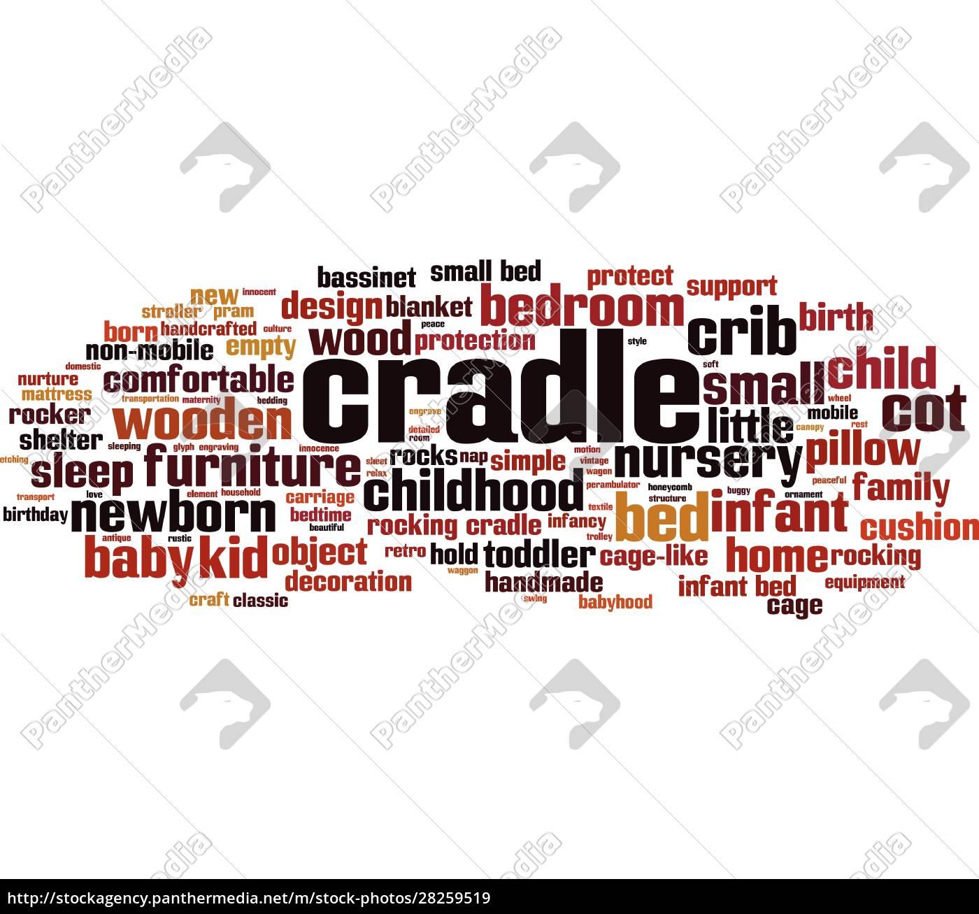 cradle, word, cloud - 28259519