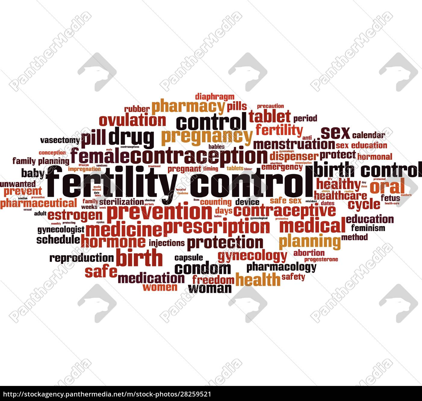fertility, control, word, cloud - 28259521