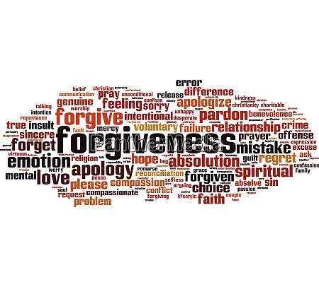 forgiveness, word, cloud - 28259497