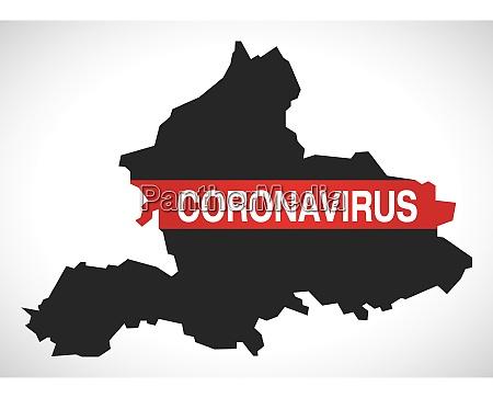 gelderland, netherlands, province, map, with, coronavirus - 28259412