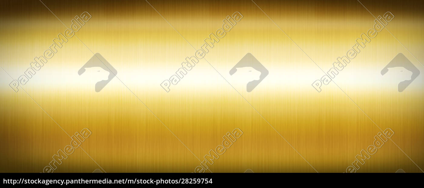 gold, brushed, metal., banner, background, texture - 28259754