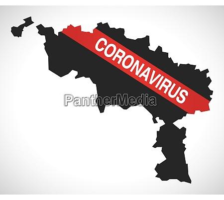 hainaut, belgium, province, map, with, coronavirus - 28259287