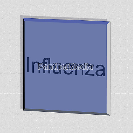 influenza, -, word, or, text, as - 28259121