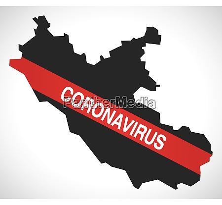 lazio, italy, region, map, with, coronavirus - 28259312