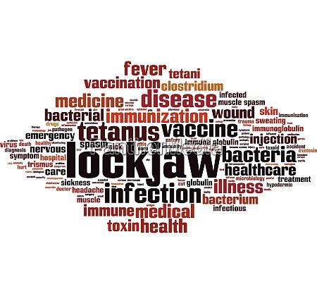 lockjaw, word, cloud - 28259386