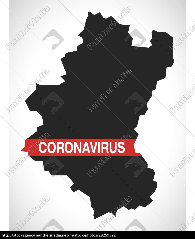 luxembourg, belgium, province, map, with, coronavirus - 28259322