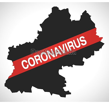 midi-pyrenees, france, region, map, with, coronavirus - 28259451