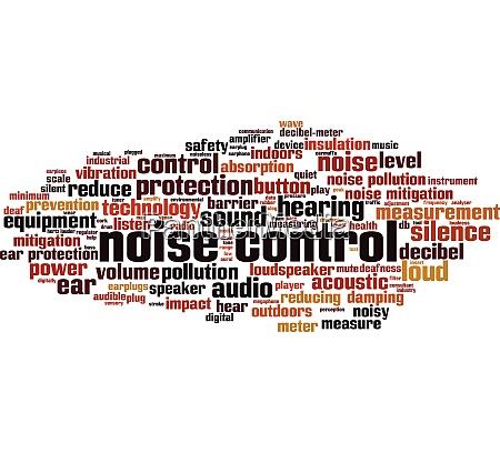 noise, control, word, cloud - 28259350