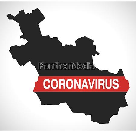overijssel, netherlands, province, map, with, coronavirus - 28259303