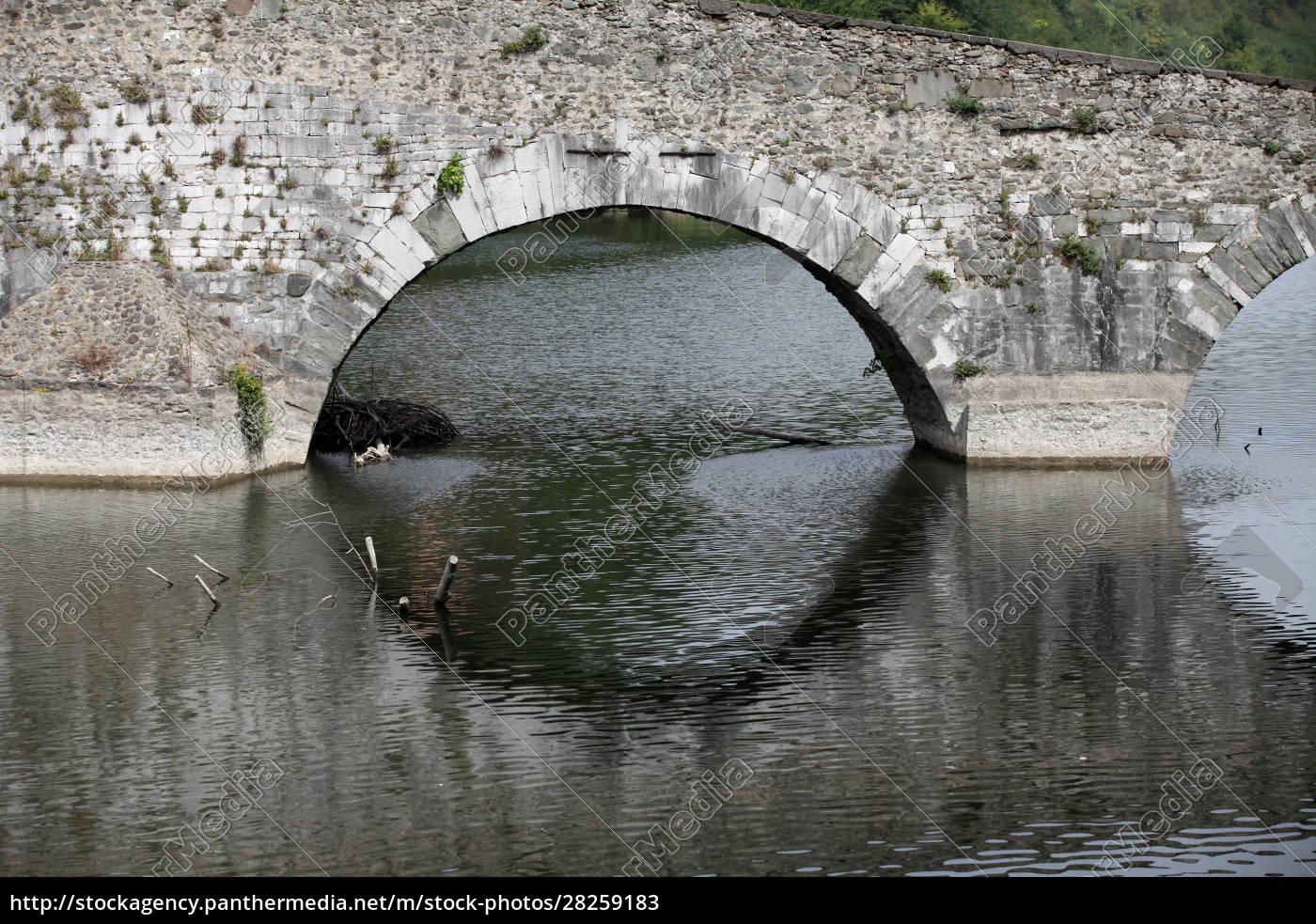 ponte, della, maddalena, across, the, serchio. - 28259183
