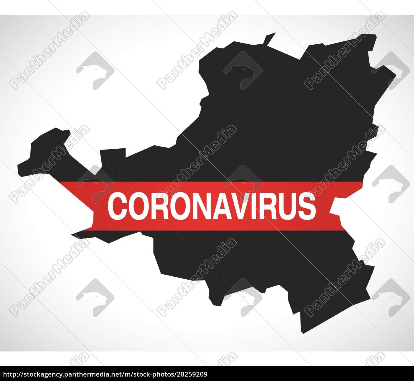schwyz, switzerland, canton, map, with, coronavirus - 28259209
