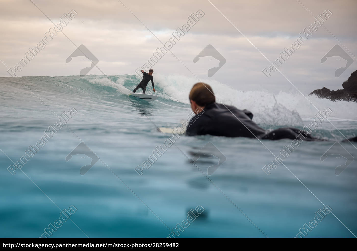 surfer, riding, waves, on, the, island - 28259482