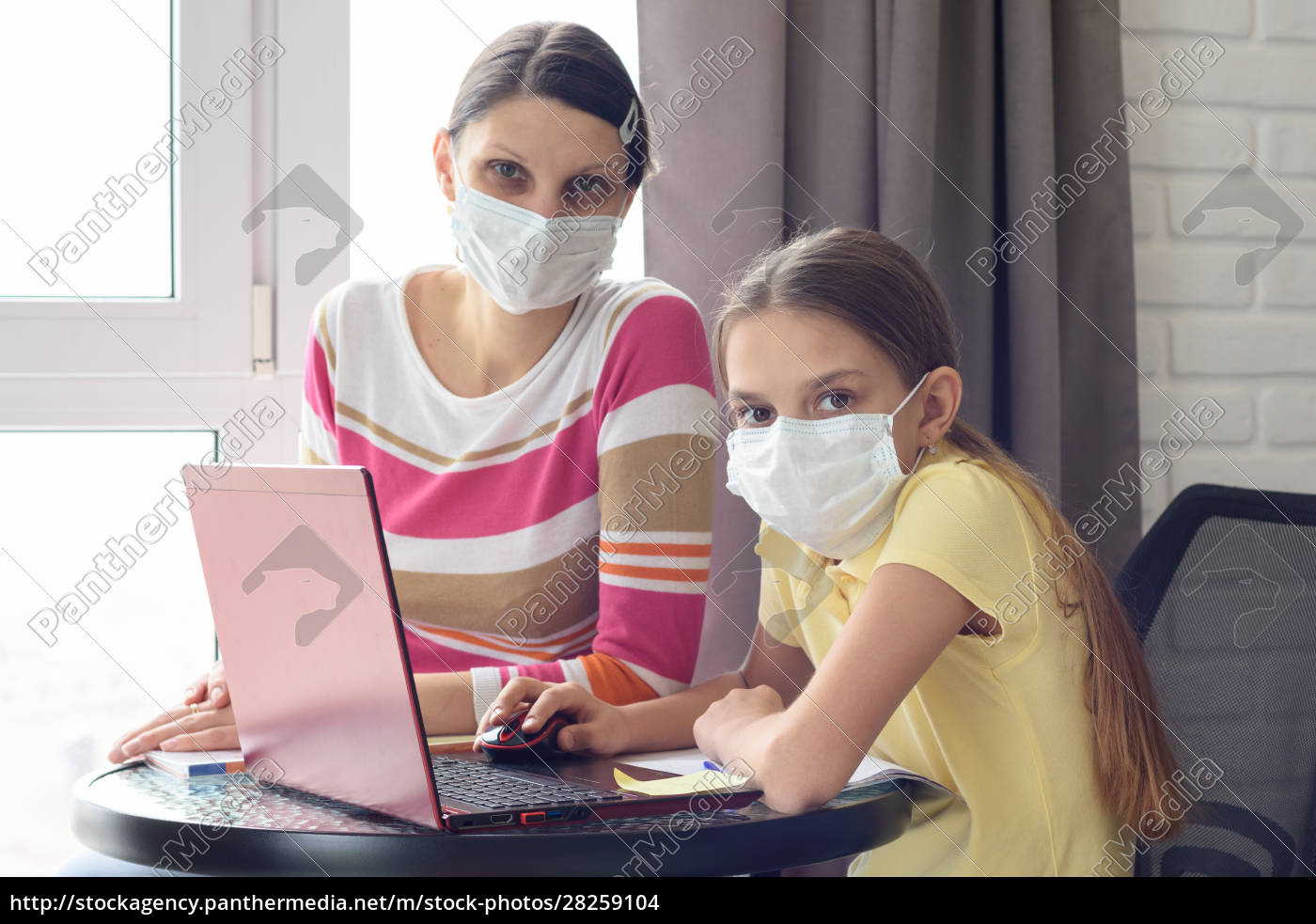 the, quarantined, family, in, the, isolation - 28259104