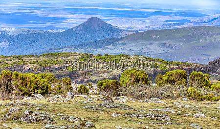 beautiful landscape of bale mountain ethiopia