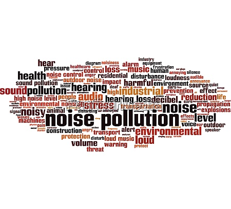 noise pollution word cloud