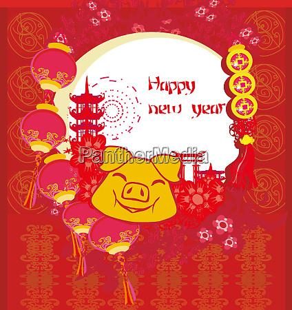 creative chinese new year 2019 year