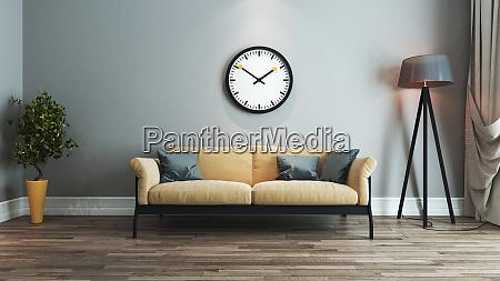 living room interior design idea with