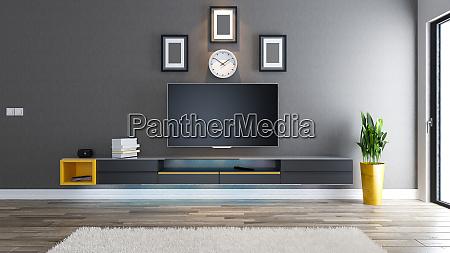 tv room interior design idea