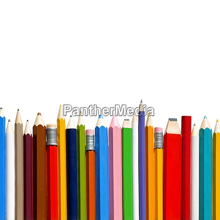 pencils and eraser