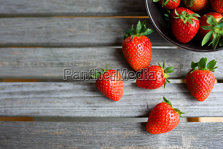 fresh juicy strawberrys