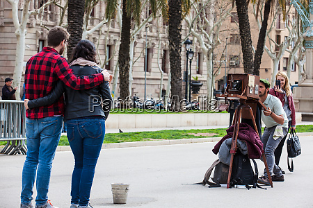 barcelona march 2018 young photographer