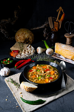 flaczki tripe soup the polish
