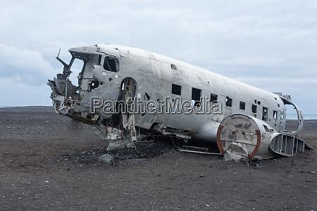 solheimasandur plane wreck view south iceland