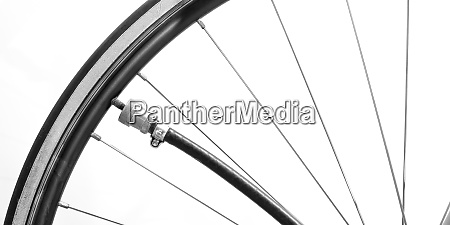 biycicle tire with tyre pump