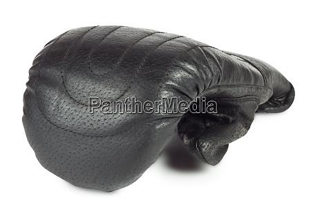 battle black boxing glove
