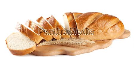 fresh sliced white loaf