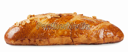 wheat loaf with tanned crust
