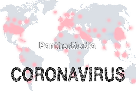 coronavirus global virus pandemic disease earth