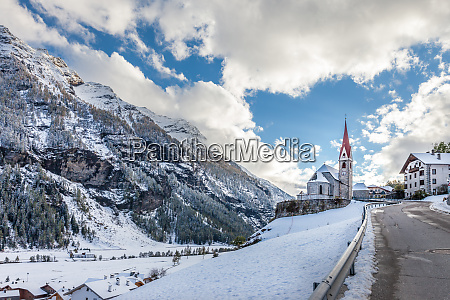 church, of, riva, di, tures, with - 28277429