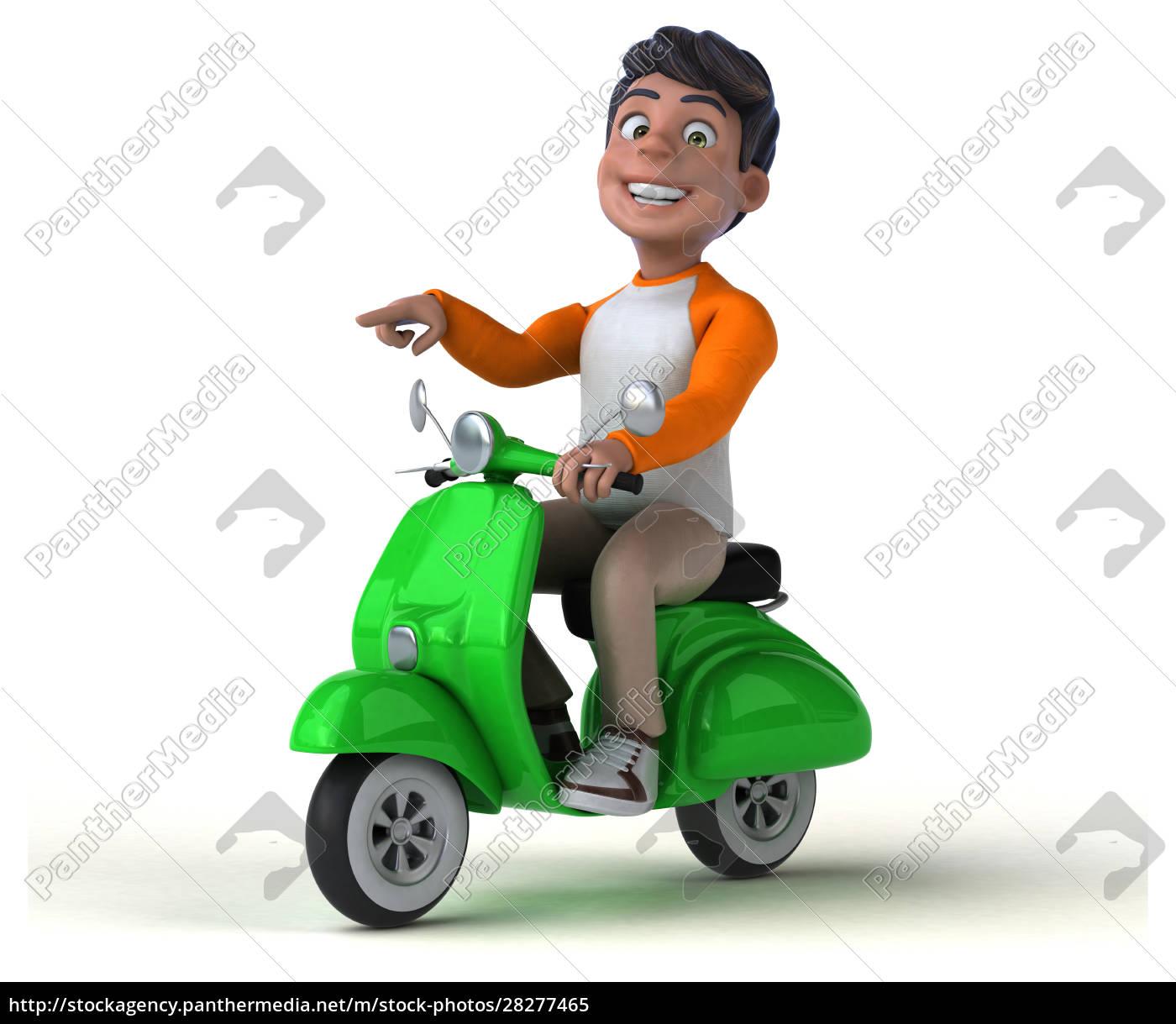 fun, 3d, cartoon, asian, teenager, - 28277465