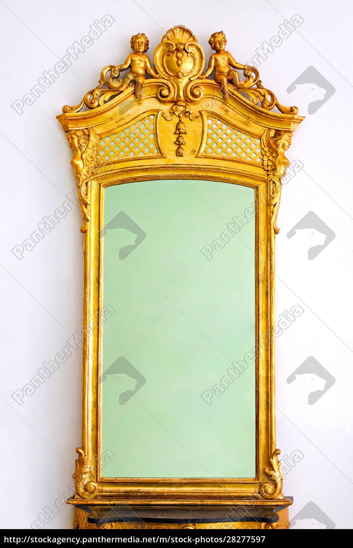 golden, mirror - 28277597