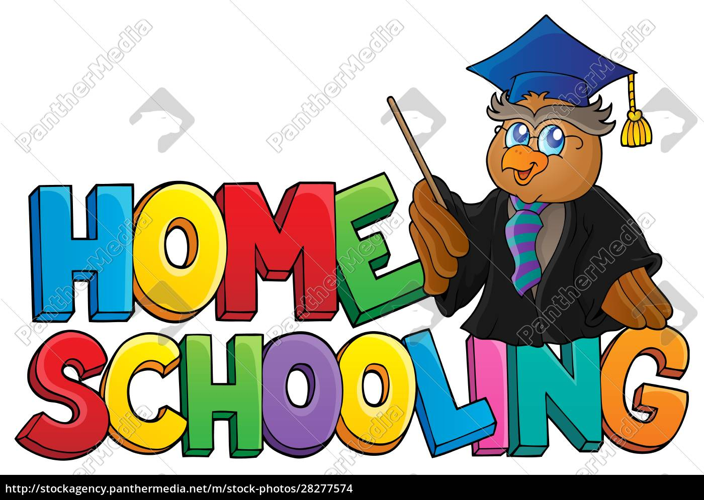 home, schooling, theme, sign, 3 - 28277574