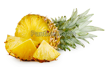 juicy, ripe, sliced, pineapple - 28277333