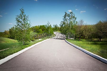 landscape, with, an, asphalt, track, in - 28277335